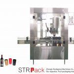 Автоматска машина за грчење на алуминиумско капаче од 4 глави