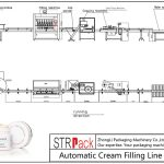 Автоматска линија за полнење крем
