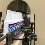 Автоматска машина за полнење со течни средства за дезинфекција