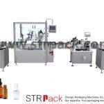 Автоматска машина за полнење и затворање шишиња со шипки