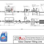 Автоматска линија за полнење на чистачот на стакло