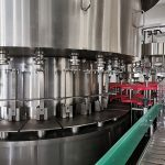 Автоматска машина за полнење тегли со мед, Внатрешна линија за вакумирање и обележување