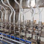 Машини за полнење на течности за системи за полнење шишиња во шишиња
