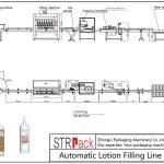Автоматска линија за полнење лосион