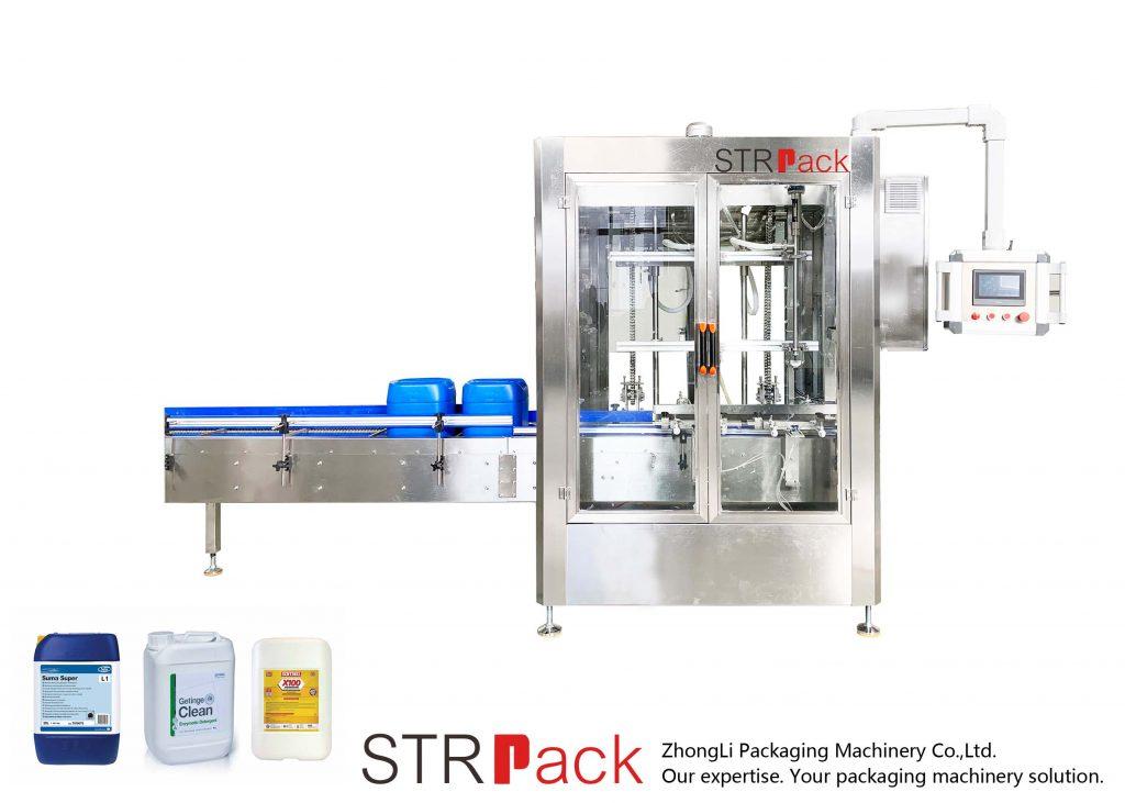 Автоматска машина за полнење со тежина на тежината