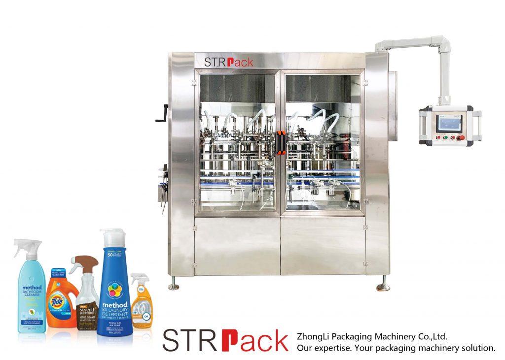 Автоматска машина за полнење со серво паста