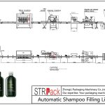 Автоматско полнење на шампон линија