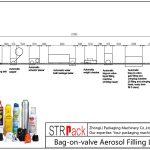 Автоматска машина за полнење аеросол-вентил за вентил