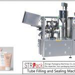 SFS-100 машина за полнење и запечатување на пластични цевки