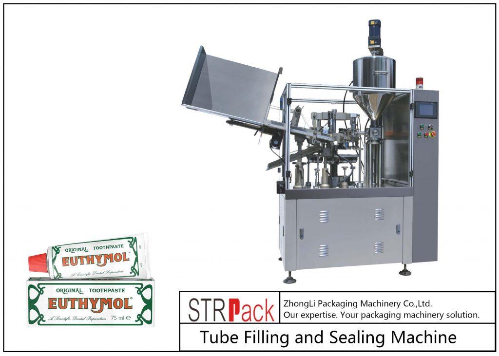 Машина за полнење и запечатување метални цевки SFS-60Z