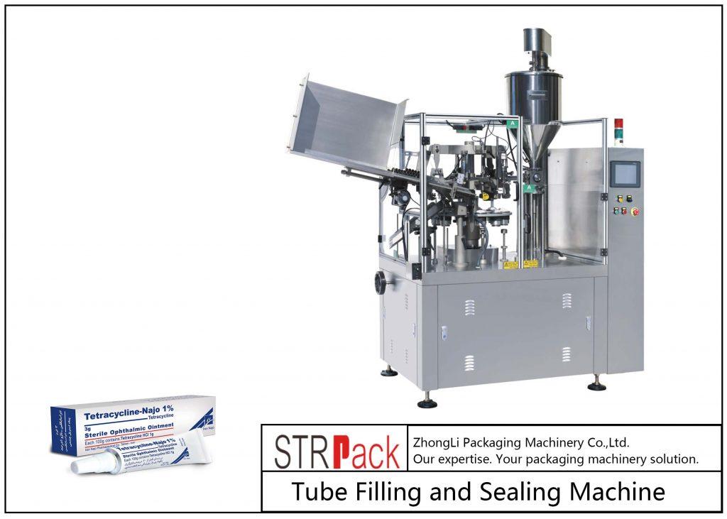Машина за полнење и запечатување метални цевки SFS-80Z