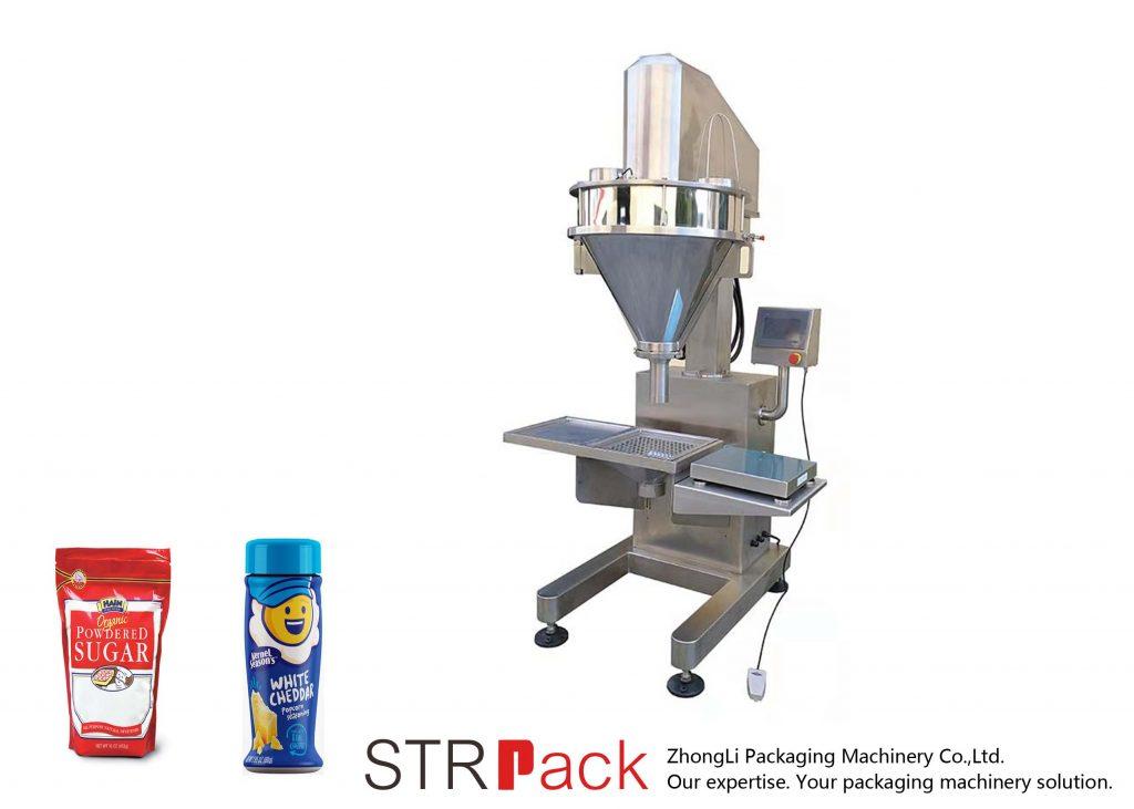 Полуматоматска машина за полнење во прав Аугер