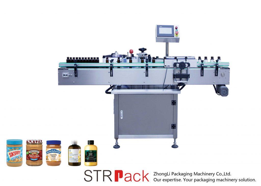 Вертикална самолеплива машина за обележување на шише